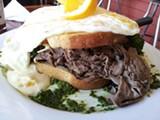 LUKE TSAI - The Sunny Side Café uses BN Ranch meat.