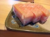 LUKE TSAI - The sushi isn't cheap, but it is impeccably prepared.