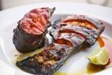 CHRIS DUFFEY - The tandoori catfish is succulent and meaty.