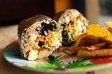 CHRIS DUFFEY - The tofu burrito at Best Burritos.