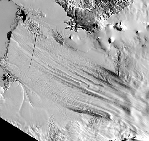 The West Antarctic ice sheet is melting faster than expected.