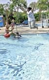 The Willard Swimming Pool on Telegraph in Berkeley.
