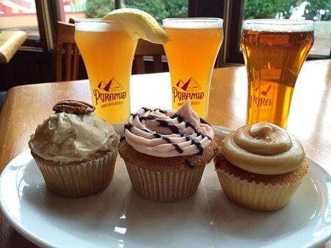 This Sunday, Pyramid Alehouse will be hosting a beer infused cupcake competition.