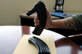 ALI WINSTON - This thirty-round clip seized by OPD carried armor-piercing ammo.