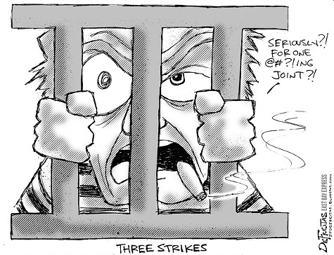 Three Srikes