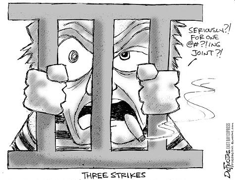 Three Srikes