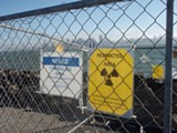 ASHLEY BATES - Throughout the island, the Navy has found small disks, some of which contain very high levels of radium-226, a dangerous toxin.