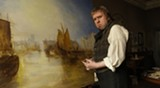 Timothy Spall plays the ornery painter in Mr. Turner.