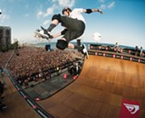 COURTESY OF TONY HAWK, INC. - Tony Hawk tests physics.