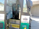 ROBERT GAMMON - Transbay buses offer Wi-Fi, but typically run half-full.