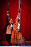 <i>Tristan & Yseult</i> is a collision of spectacle, storytelling, circus, music, dance, and comedy.