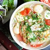 Soup of the Day at Cafe Kim Thuy