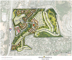 Oak Knoll is the city's second largest development project in terms of housing units.