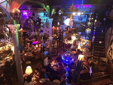 Small Wonder is known for its eclectic decorations. - PHOTO COURTESY OF SHAYLA B. VIA YELP