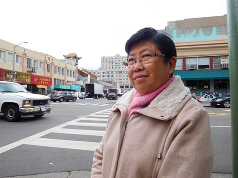 "Li Ya Chen thinks the ballpark will ""disrupt normal life."" - PHOTO BY DARWIN BONGGRAHAM"