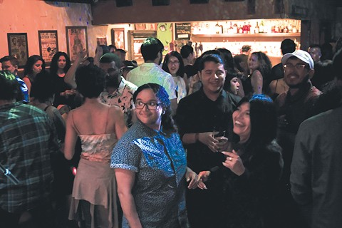 The crowd at the It's Lit party at The Legionnaire Saloon. - PHOTO BY SAMUEL REYES @DJLIVE408