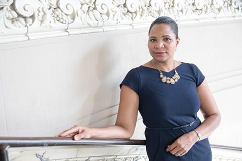 Julayne Virgil is the CEO of Girls Inc. of Alameda County. - LORI EANES