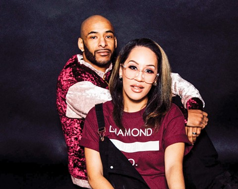 Jesse and Amina Brooks started Trap X Art in order to become self-employed - PHOTO BY LAKEELA SMITH