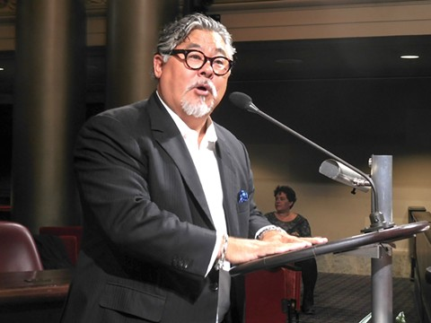 Phil Tagami's lawsuit against the city of Oakland is being funded by a coal company. - FILE PHOTO BY DARWIN BONDGRAHAM