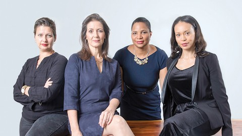 Carolina De Robertis, Libby Schaaf, Julayne Virgil, and Holly Joshi were among the East Bay women who wrote about sexual harassment and assault. - PHOTO BY LORI EANES
