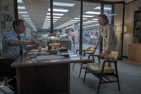 Tom Hanks and Meryl Streep have deadline jitters in The Post.
