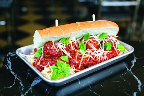 Stay Gold Deli's meatball sub. - ANDRIA LO/FILE PHOTO