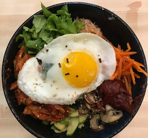 Dosirak Shop will serve rice bowls such as bibimbap. - PHOTO COURTESY OF DOSIRAK SHOP