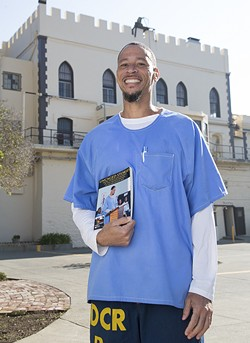 Rahsaan Thomas has been collecting stories from inmates. - PHOTO BY PETER MERTS PHOTOGRAPHY