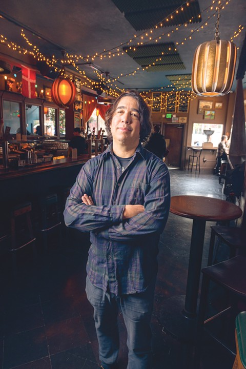 In his brief time at Slim's and Great American Music Hall, Anthony Bedard booked several all-local bills that reflected his deep knowledge of the Bay Area music scene. - PHOTO BY LANCE YAMAMOTO