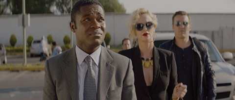 David Oyelowo, Charlize Theron, and Joel Edgerton are down on the pharma in Gringo.