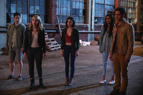 Lucy Hale (center) and friends regret their vacation plans in Truth or Dare