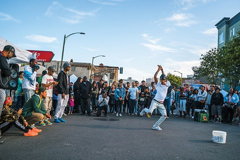 Turf dancing often takes the streets on First Friday, but it'll also get its own festival this May. - PHOTO COURTESY OF VISIT OAKLAND