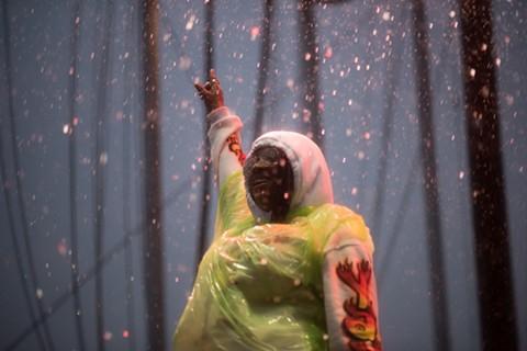 Kamaiyah performed despite the rain at the last Treasure Island Music Festival. - MIKE MILLER/FILE PHOTO