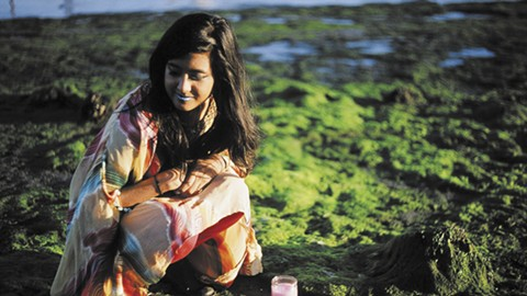 East Bay artist Sharmi Basu will perform as Beast Nest at Ebbing Sounds. - PHOTO COURTESY OF SHARMI BASU