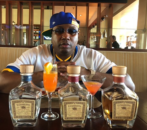 E-40: rapper, businessman, tequila maven. - PHOTO COURTESY OF LAKE CHALET