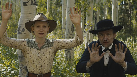 Mia Wasikowska and David Zellner vent their frustrations.