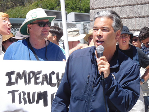 "Assemblymember Rob Bonta said he has been ""shocked and dismayed"" by the federal immigration enforcement policy of separating children from their parents."