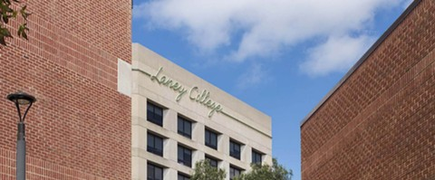 Laney College is one of four campuses part of the Peralta Community College District.