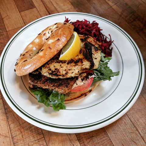 The new menu includes vegan catfish. - PHOTO COURTESY OF THE BUTCHER'S SON
