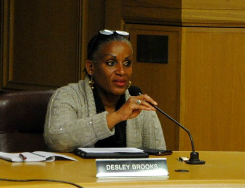 Oakland Councilmember Desley Brooks - PHOTO BY STEVEN TAVARES