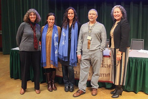 Native American teachers and activists meet regularly to create K-12 curriculum about California's indigenous inhabitants. - COURTESY OF SACRAMENTO STATE UNIVERSITY