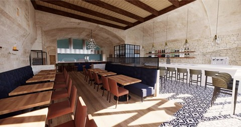 A rendering of the dining room. - PHOTO COURTESY OF STUDIO KDA