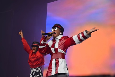 Janelle Monáe delivered one of the best sets all weekend. - PHOTO BY ADRIENNE LEE
