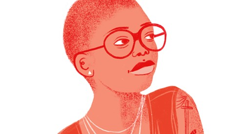 Zoé Samudzi. - ILLUSTRATION BY GILLIAN DREHER