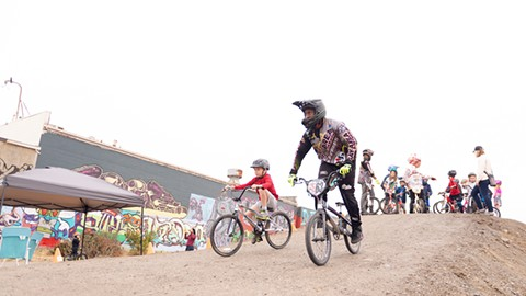 Kids can ride for free at Dirt World 365 days a year. - PHOTO BY LANCE YAMAMOTO
