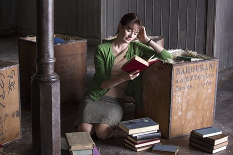 Emily Mortimer plays an obstinate, headstrong, heartbroken widow in The Bookshop.