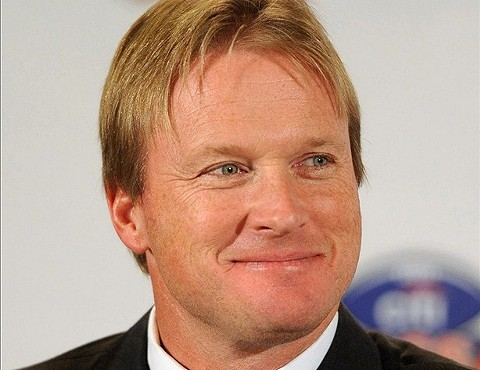 Jon Gruden has a new role: NFL villain.