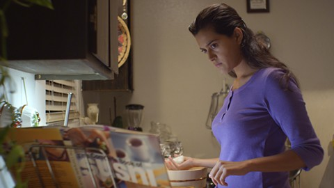 Diana Elizabeth Torres stars in the locally made film East Side Sushi.