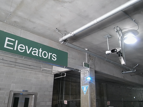 BART police installed ALPR cameras in the MacArthur Station Parking Garage. - FILE PHOTO BY DARWIN BONDGRAHAM