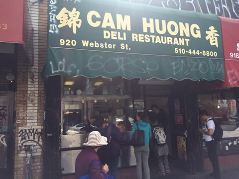 Cam Huong is one of the last Vietnamese sandwich shops in Oakland Chinatown. - PHOTO BY MOMO CHANG